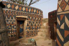 Tiébélé (by Guillaume & Pauline)  Tiebele, Burkina Faso