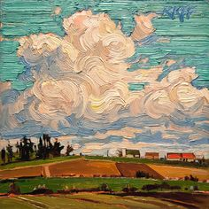 large cloud painting - Google Search
