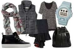 What to Wear for the First Week of School: 5 Perfect Outfits That'll Gain You Serious Style Cred Cute Outfits For School, Outfits For Teens, What To Wear Fall, How To Wear, Teen Fashion, Fashion Outfits, Fashion Trends, Middle School Fashion, Nike Slippers
