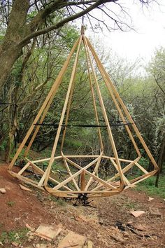 Rowan Stickland's new pod #alternativearchitecture #architecture #tipi