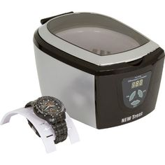http://103rdavenue.com/new-trent-cd-7810-professional-ultrasonic-watch-jewelry-cd-and-eyeglass-cleaner/ This professional ultrasonic cleaner (Model NT7810) from New Trent will work really well for a wide range of products including jewelry, eyeglasses, toothbrushes and dental tools. New Trent is a trademark of New Trent Inc, is exclusively marketed by authorized reseller idealpoint on amazon.com.  Key features includes - This powerf...