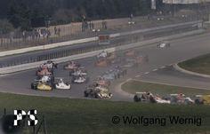 Start of the XXXVII ADAC-Eifelrennen 1975