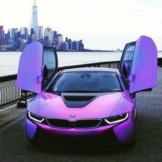 BMW at it's perfect purple best!
