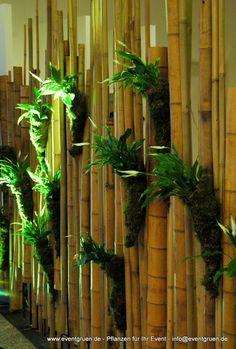 bamboo raumteiler