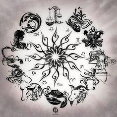 zodiac tattoo