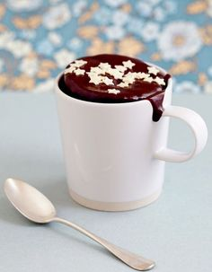 Le choco fondant - Mug cake, le nouveau cupcake ? - Elle à Table