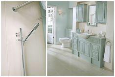 Duck egg washbasin unit from Utopia Bathrooms. Furniture, Wash Basin, Range, Bathroom Furniture, Bathroom, Storage, Bathtub