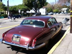 1963-1968 Jaguar 4.2, Monterey and Hopkins, with my bicycle