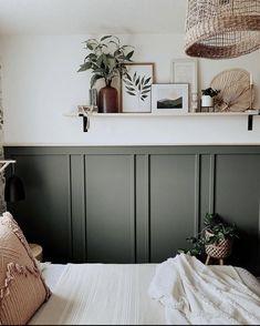 Home Bedroom, Bedroom Wall, Bedroom Decor, Bedrooms, Master Bedroom, Guest Room Office, Cozy House, Home Remodeling, Decoration