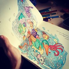 #escapetowonderlandcolouringbook #escapetowonderland #colouringbook