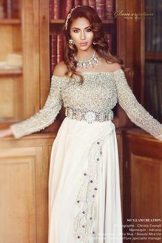 Caftans Mariées en location | So Glam Création Haute couture