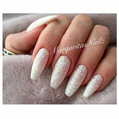 Best wedding glitters nail ideas design 2017