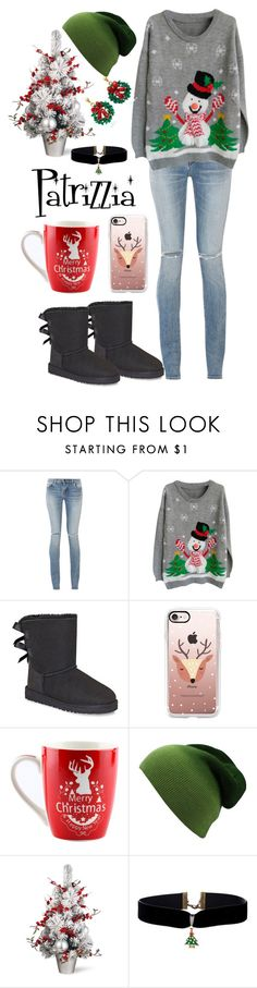 Patrizzia25.12.2016a by patrizzia on Polyvore featuring moda, Yves Saint Laurent, UGG and Casetify