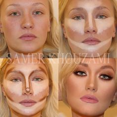 How to Contour Face Like a Pro And#8211; the Best Makeup Tricks ★ See more: https://makeupjournal.com/contour-face-makeup-tricks/