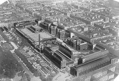 Nachrichtenfoto : AEG - Fabrik in Berlin,...