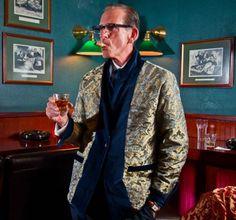 smoking jacket cigar lounge - Google Search