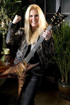 Lita Ford - one of the hottest metal maidens