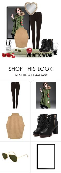 """snow white was a high flyer"" by cindi-s on Polyvore featuring Replay, Ray-Ban, Bomedo and Gallery"