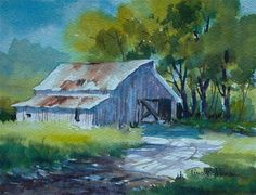 """Sun Struck"" - Original Fine Art for Sale - © Tina Bohlman"