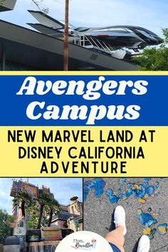Avengers Campus, a brand new Marvel-themed land is opening at Disney California Adventure park on June 4th, 2021! Get the details on what we know about this Disneyland resort land including WEBSLINGERS - A Spider-Man Adventure ride, live entertainment, unique dining, and character interactions. See what changes guests can expect including whether Avengers Campus will be kid friendly, crowd levels and whether you should watch the movies before your Disney vacation! #Disneyland #DisneyTips #Marvel Marvel Characters, Marvel Movies, Avengers Headquarters, Disney California Adventure Park, June 4th, Disney Tips, Disneyland Resort, Vacation Packages, World Of Color