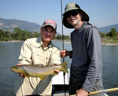 The River's Edge Fly Shop in Bozeman offers guided fishing trips on the Yellowstone, Madison, Gallatin, Big Horn, Big Hole, and Missouri Rivers along with private fishing accesses.