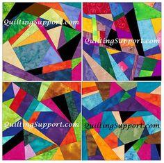 Paper Piecing Patterns, Quilt Block Patterns, Pattern Blocks, Quilt Blocks, Foundation Sets, Foundation Piecing, Flowering Snowball Quilts, Crumb Quilt, Paper Pin