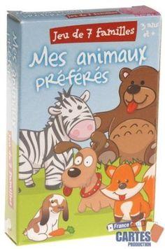 """Jeu de 42 cartes : 7 Familles """"Mes animaux préférés"""" from Amazon.fr"""