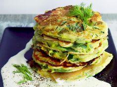 Zucchini-Spinat-Puffer - so geht's   LECKER