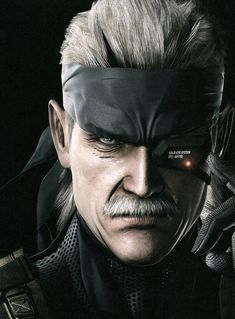 View an image titled 'Old Snake Face Art' in our Metal Gear Solid 4 art gallery featuring official character designs, concept art, and promo pictures. Snake Metal Gear, Metal Gear Solid Series, Metal Gear 4, Metal Gear Games, Kojima Productions, Video Game Art, Video Games, Celebrity Travel, Face Art