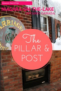 Our hotel review of The Pillar and Post in Niagara-on-the-Lake, Ontario, Canada. It's more than just a lovely inn nestled in a quaint village in wine country - it's a state of the art spa with hot springs! A truly relaxing getaway that was perfect for a romantic Valentine's Day together. Our thoughts about the hotel, complete with a video review! http://justinpluslauren.com/hotel-review-pillar-and-post/