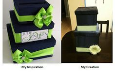 Meredith On The Run: Gettin' Crafty: Wedding Card Box