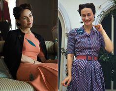 Lia Williams as Wallis Simpson, the Duchess of Windsor
