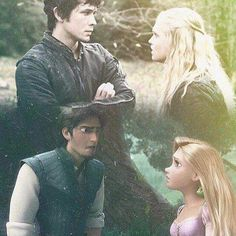 Bellarke/Tangled Parallel
