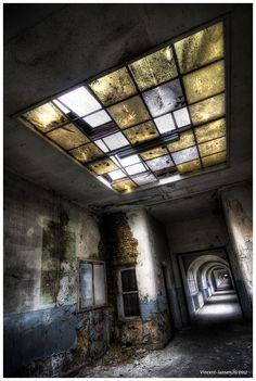 Photo made in an abandoned school in Belgium. www.flickr.com/vincentjansen