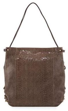 Oryany Jessica Embossed-Leather Shoulder Bag, Taupe  ON SALE: Was $298.00 Reduced to: $178.00  40% OFF