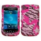 Asmyna BB9800HPCDM169NP Dazzling Luxurious Bling Case for BlackBerry Torch 9800 – 1 Pack – Retail Packaging – Rebel Stars