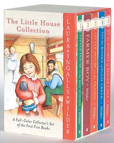 The Little House Collection: Laura Ingalls Wilder, Garth Williams: 9780060754280: AmazonSmile: Books