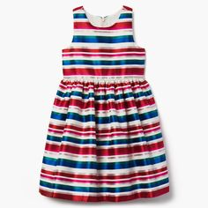3187d436af328 Girl True Red Striped Jacquard Dress by Gymboree Little Boy And Girl