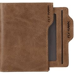 online shopping for FlyHawk Men's RFID Blocking Italian Genuine Handmade Leather Bifold Wallet from top store. See new offer for FlyHawk Men's RFID Blocking Italian Genuine Handmade Leather Bifold Wallet Handmade Leather Wallet, Leather Bifold Wallet, Crochet Wallet, Simple Wallet, Designer Wallets, Rfid Wallet, Leather Design, Wallets For Women, Leather Wallets