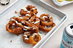 Onion Rings @ Clinton Hall NYC Seaport District // Bars // Restaurants