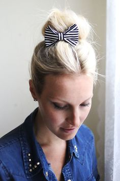 Lets Make Hair Clips (and bows)