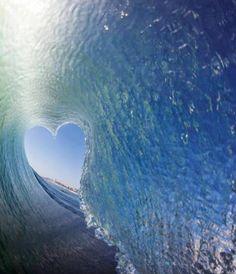 ♡ Water heart