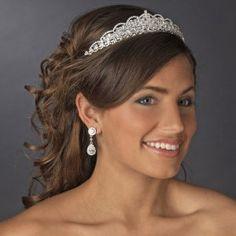 Pretty Quince tiara! Visit specialoccasionsforless.com for fabulous quinceanera accessories!
