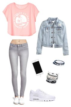 """""""Untitled #40"""" by anabela-becas on Polyvore featuring Victoria's Secret, Forever 21, Domo Beads, H&M and Shop Dixi"""