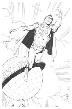 Superman by Paul Smith Comic Art