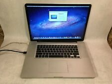 Apple Macbook Pro 17 A1297 2009 Intel C2d 2 8ghz In 2020 Macbook Pro 17 Apple Macbook Pro Macbook Pro