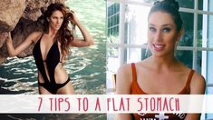 7 Tips to a Flat Stomach in 7 Days | Cassandra Bankson