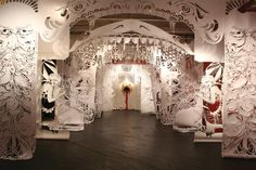 Swoon  A new book explores street artist Caledonia Curry's floating installations and intricate paper cut-outs