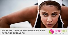 PCOS and exercise research gives us some really useful information that we can use to improve our PCOS and it's symptoms.