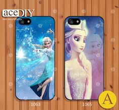 Disney frozen Phone cases iPhone 5 case iPhone 5s case by aceDIY